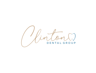 Clinton Dental Group logo design