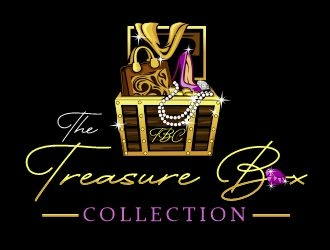 The Treasure Box Collection  logo design