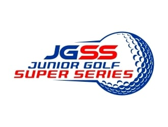 Junior Golf Super Series logo design