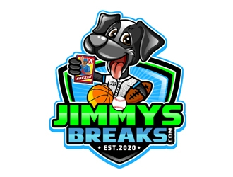 JimmysBreaks.com logo design