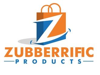 Zubberrific Products logo design