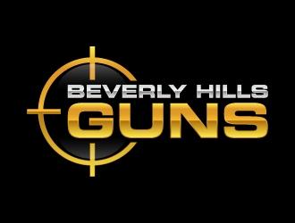BEVERLY HILLS GUNS Logo Design