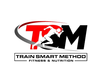 Train Smart Method logo design