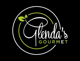 Glenda's Gourmet logo design