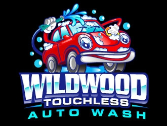 Wildwood Auto Wash logo design