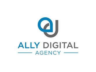 Ally Digital Agency logo design