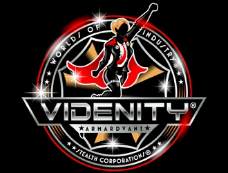 VIDENITY® Stealth Corporations® Powered by TARG - IT ECTURE® by ARMARDVANT.  logo design winner
