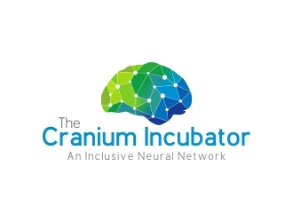 Company Name: The Cranium Incubator, Tagline: An Inclusive Neural Network  logo design