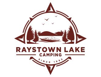 Raystown Lake Camping logo design