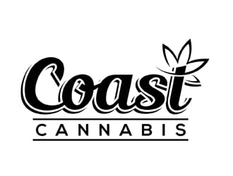 Coast Cannabis  logo design