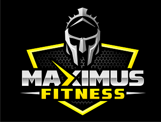 Maximus Strength logo design