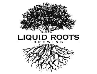Liquid Roots Brewing  logo design