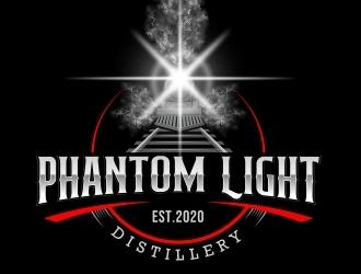 Phantom Light Distillery logo design