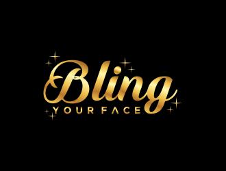 Bling Your Face logo design