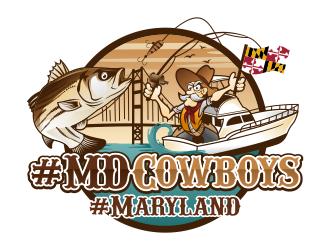 #MDCowboys logo design