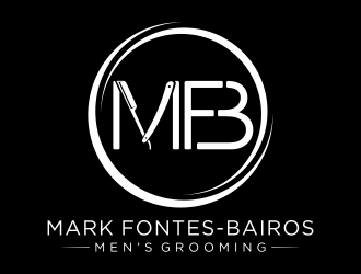 Mark Fontes-Bairos Mens Grooming logo design