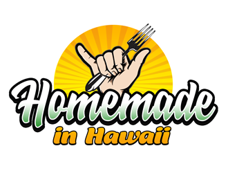 Homemade in Hawaii logo design winner
