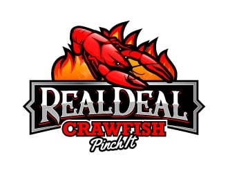 Real Deal Crawfish logo design