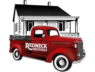 Redneck Revivals  logo design