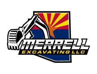 Merrell Excavating LLC logo design