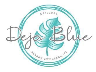 Deja Blue logo design winner