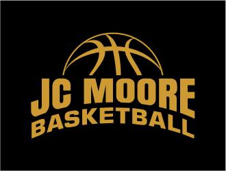 JC Moore Basketball logo design by cintoko