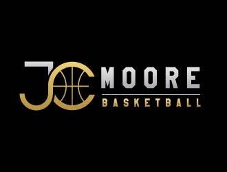 JC Moore Basketball logo design by usef44