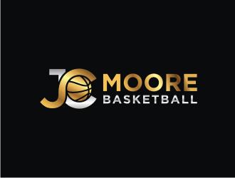 JC Moore Basketball logo design by carman