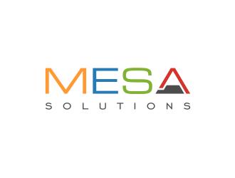 Mesa Solutions LLC logo design winner