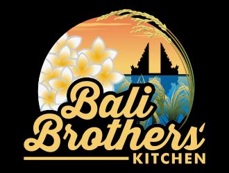 Bali Brothers' Kitchen logo design by Kruger