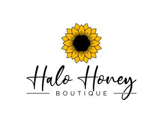 Halo Honey Boutique  logo design