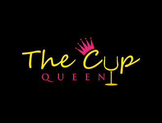 The Cup Queen logo design