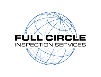 Full Circle Inspection Services logo design