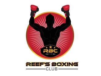 Reefs Boxing Club logo design by Gelotine