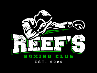 Reefs Boxing Club logo design by PRN123