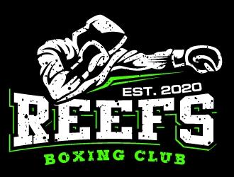 Reefs Boxing Club logo design by uttam