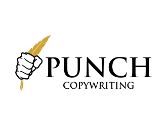 Punch Copywriting logo design