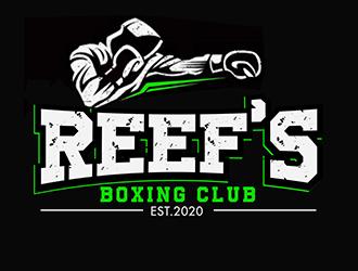 Reefs Boxing Club logo design by 3Dlogos