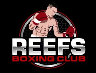 Reefs Boxing Club logo design by AamirKhan