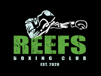 Reefs Boxing Club logo design by zoominten