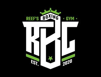 Reefs Boxing Club logo design by brandshark