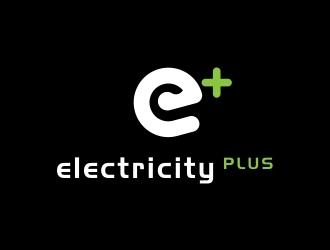 Electricity Plus logo design