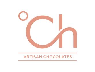 °Ch - (chocolates by Türkan) logo design