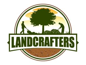 LandCrafters LLC logo design