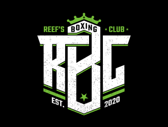 Reefs Boxing Club logo design