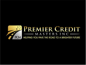 Premier Credit Masters Inc logo design