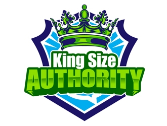 King Size Authority logo design