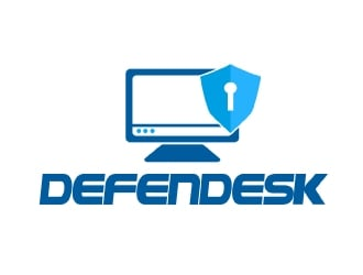 Defendesk logo design