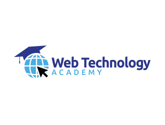 Web Technology Academy logo design