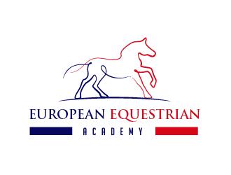 European Equestrian Academy  logo design